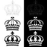 Crown of Louis XIV Royalty Free Stock Photos