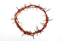 Crown made of thorns Royalty Free Stock Image