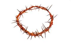 Crown made of thorns Stock Photos