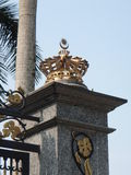 Crown, Malaysia. A crown on the gate of the Royal Palace in Kuala Lumpur, Malaysia Royalty Free Stock Photo