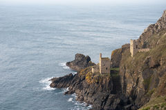 Crown Mines , Botallack, Cornwall Stock Photography