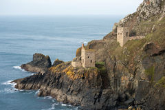 Crown Mines ruins, Botallack Royalty Free Stock Image
