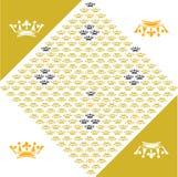 Crown motif Royalty Free Stock Images