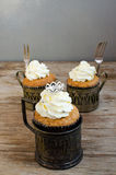 Crown Muffins Stock Image