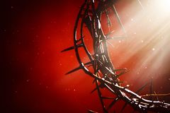 Free Crown Of Thorns An Emblem Of Christ`s Passion Stock Photography - 144443402