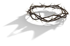Free Crown Of Thorns With Royal Shadow Stock Photos - 81602123