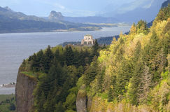 Crown point, Columbia River Gorge Oregon. Stock Images