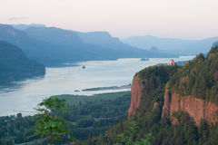 Crown Point Dusk Stock Photography