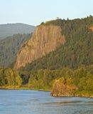 Crown Point Oregon. Vista House at Crown point Columbia river Gorge Oregon Stock Photo