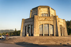 Crown Point Vista House, Columbia River Gorge Royalty Free Stock Photo