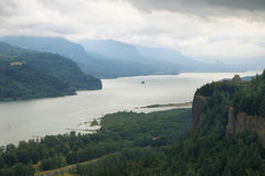 Crown point from the women`s forum, Oregon. Royalty Free Stock Images