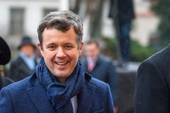 Crown Prince of Denmark Frederik royalty free stock image