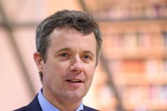 Crown Prince of Denmark Frederik stock images