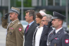 Crown Prince Frederik of Denmark and his wife, Pri Stock Image