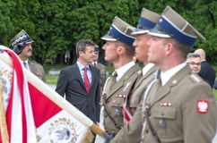 Crown Prince Frederik of Denmark Royalty Free Stock Photos