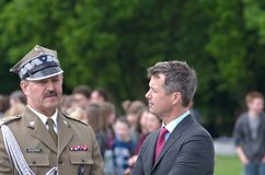 Crown Prince Frederik of Denmark Stock Photo
