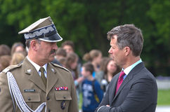 Crown Prince Frederik of Denmark Royalty Free Stock Photography