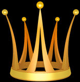 Crown the princess Royalty Free Stock Images
