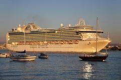Crown Princess Cruise Ship Stock Photos