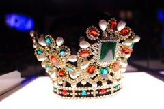 Crown of princess Stock Photos