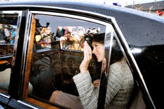 CROWN PRINCESS MARY & CROWN PRINCE FREDERIK Royalty Free Stock Photo