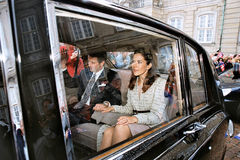 CROWN PRINCESS MARY & CROWN PRINCE FREDERIK Stock Photos