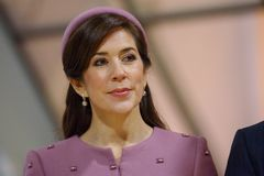 Crown Princess Mary Elizabeth of Denmark stock image
