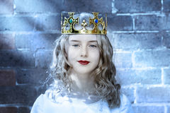 Crown Queen Girl Child Princess Royalty Free Stock Images