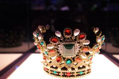 Crown of queen Royalty Free Stock Image