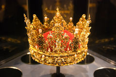 Crown. Rosenborg. Copenhagen royalty free stock image