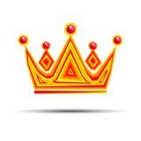 Crown royal queen vector king symbol emperor icon stones gold lo. Crown royal queen vector king symbol emperor icon stones gold Stock Photo