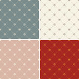 Crown royal seamless pattern vector Royalty Free Stock Images
