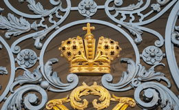 Crown of the Russian Empire Royalty Free Stock Images