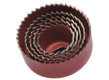 Crown's for drilling round holes in drywall and wood Stock Images