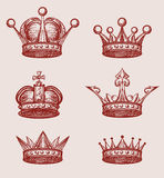 Crown Set Stock Images