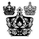 Crown set Royalty Free Stock Photography