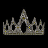 Crown symbol jewelry ornament design Royalty Free Stock Photo