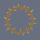 Crown of Thorns of Christ Illustration Stock Image