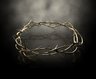 Crown Of Thorns Gold Casting Stock Photo