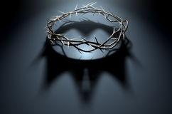 Crown Of Thorns With Royal Shadow Stock Photography