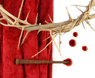 Crown of Thorns and Spikes Royalty Free Stock Photos