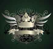 Crown - Vector illustration Royalty Free Stock Image