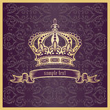 Crown. Vector illustration eps.10.  Royalty Free Stock Images