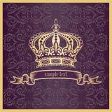 Crown. Vector illustration eps.10. stock illustration