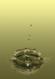 Crown of water. Splash of water with drops can be used as a background Vector Illustration