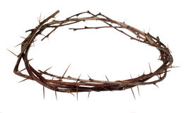 Crown of wood with thorns Stock Image