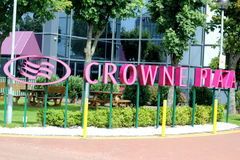 The Crowne Plaza Hotel Royalty Free Stock Photo