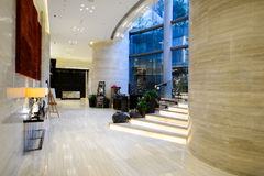Crowne Plaza hotel interior Royalty Free Stock Photography