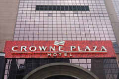 Crowne Plaza Hotel. A Crowne Plaza Hotel, in Times Square, New York City Royalty Free Stock Images