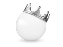 Crowned Sphere Royalty Free Stock Photo